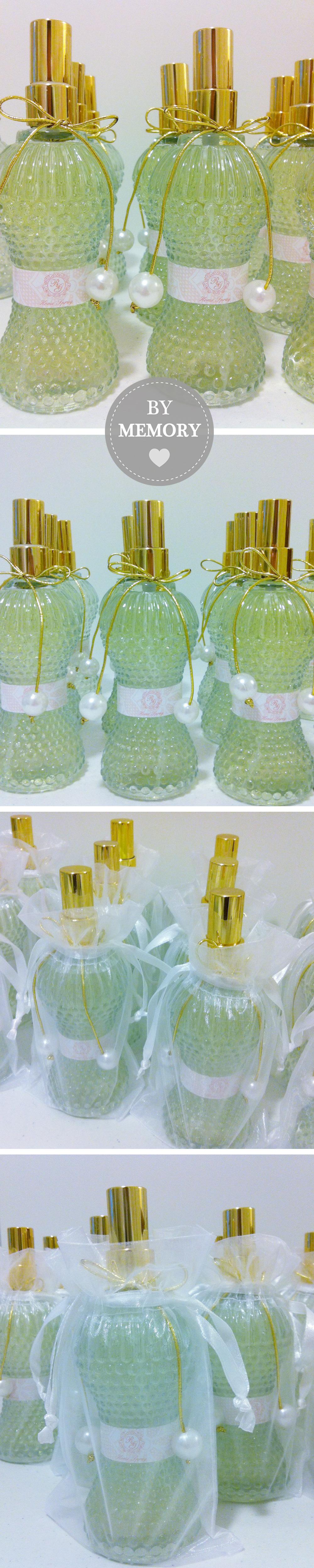 Presente para madrinhas: Home Sprays Personalizados