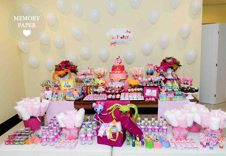 Festa personalizada Lalaloopsy